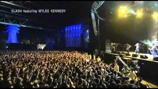 Slash feat. Myles Kennedy - Sweet Child o Mine (Summer Sonic Japan 2010)