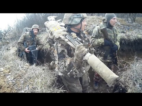 VIDEO Of Russian FSB Snipers In Ukraine.