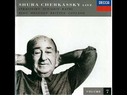 Shura cherkassky copland 39 el salon mexico 39 youtube for Aaron copland el salon mexico