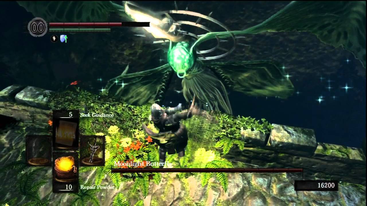 Dark Souls] How To Beat Moonlight Butterfly - YouTube