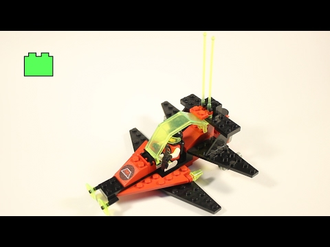 Lego Space 6877 Vector Detector - 1990 - Speed Build