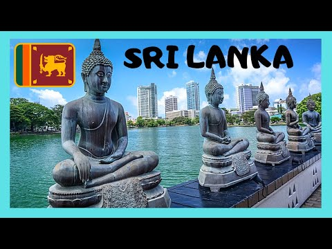SRI LANKA, The magnificent GANGARAMAYA BUDDHIST TEMPLE in COLOMBO