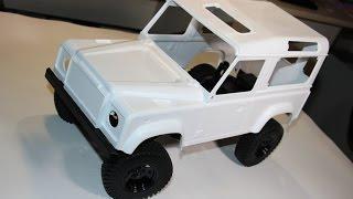 Defender, часть 2 .... Сборка шасси радиоуправляемой трофи модели (RC4WD Gelande II rc car)