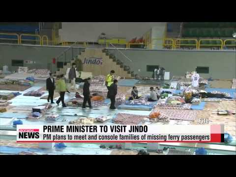 Prime Minister Chung Hong-won to visit Jindo to check on ferry recovery process