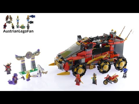 Lego Ninjago 70750 Ninja DB X - Lego Speed Build Review