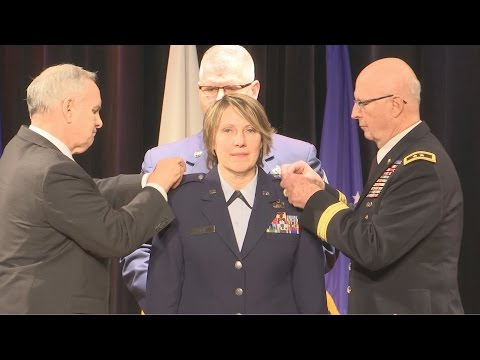 Brig. Gen. Sandy Best Promotion
