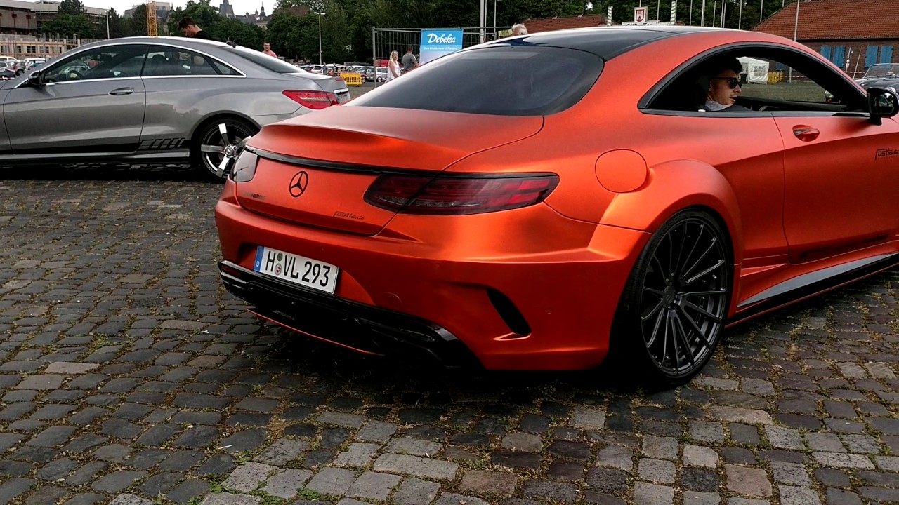 mercedes s63 amg coupe prior fostla sound youtube. Black Bedroom Furniture Sets. Home Design Ideas