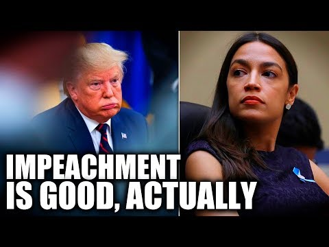 "Alexandria Ocasio-Cortez Debunks Idea That Trump Impeachment is a ""Distraction"""