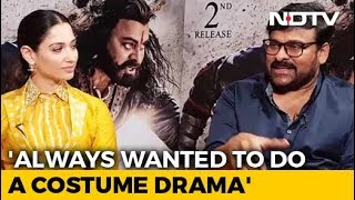 Chiranjeevi On His First Experience Of Working In A Costume Drama