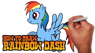 How to Draw Rainbow Dash - Step by Step Video