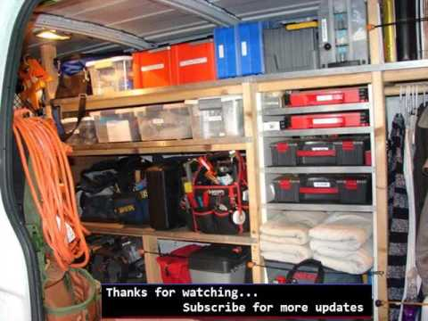 Wall Storage Shelves Picture Ideas | Shelving For Delivery Vans | Creative Racks for Vehicles & Wall Storage Shelves Picture Ideas | Shelving For Delivery Vans ...
