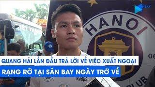 Quang Hải lần đầu lên tiếng về việc xuất ngoại: 'Em có ước mơ'   Next Sports