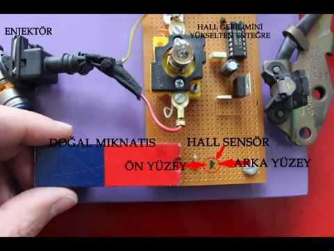 Hall sensörü deneyi-Hall effect sensor