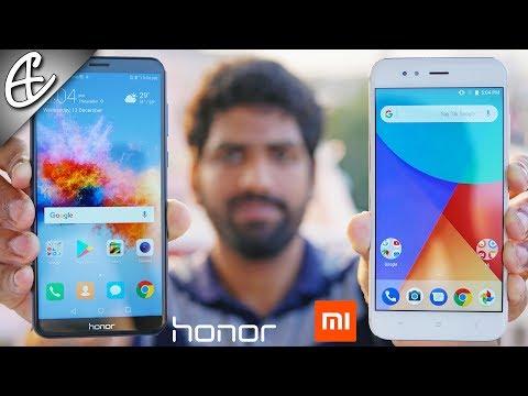 Honor 7X vs Xiaomi Mi A1 - What's Best For YOU? Full Comparison!