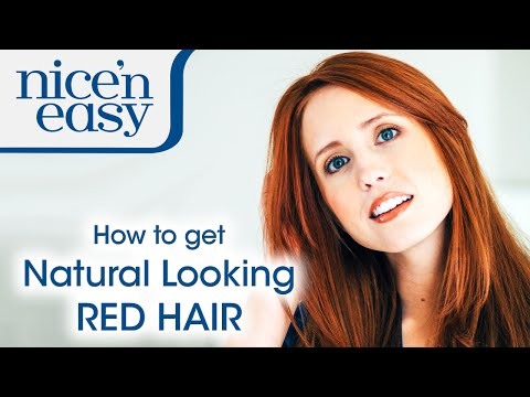 How to Get a Natural Looking Red Hair Colour at Home | Nice 'n Easy
