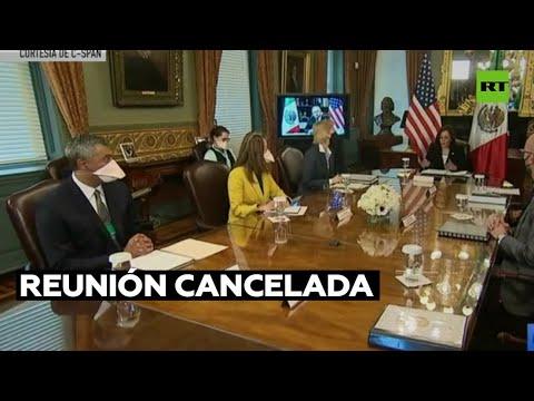 Senado mexicano cancela una reunión con vicepresidenta de EE.UU.
