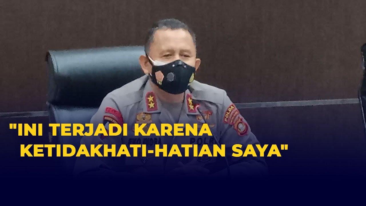 Download Dana Hibah 2 Triliun Fiktif, Kapolda Sumsel Minta Maaf