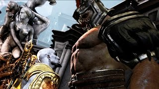 Hercules vs Kratos Full Boss Fight - God of War 3 REMASTERED 1080p 60FPS