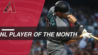 A.J. Pollock is NL Player of the Month for April '18