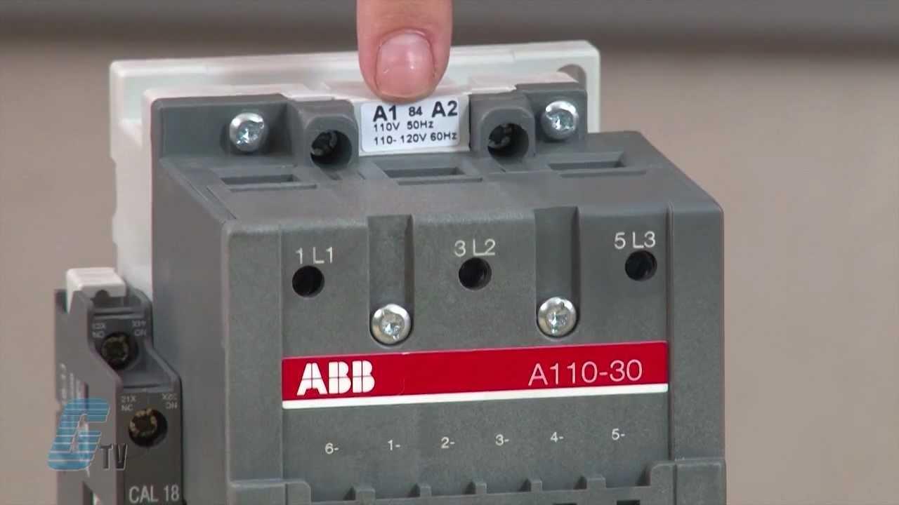 Abb Ac Non Reversing Iec Contactors A Line Series Review