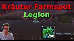 Kräuterkunde Legion: Traumlaub Farmspot über 900 Kräuter pro Stunde