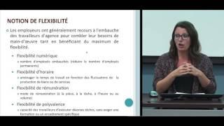 Conférence: «Les agences de location de personnel: un nouveau modèle productif du travail?»