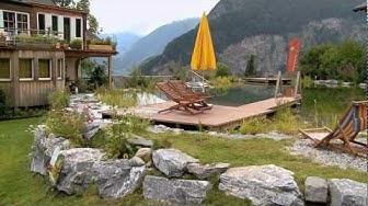 BIO-Hotel Balance, Schwimmteich: Baden auf 1.100 Metern Höhe
