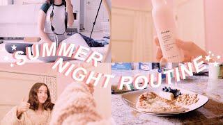My Summer Night Routine ✨🌙
