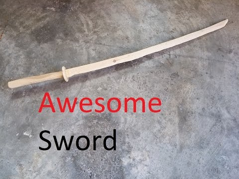 Making a Wooden Sword