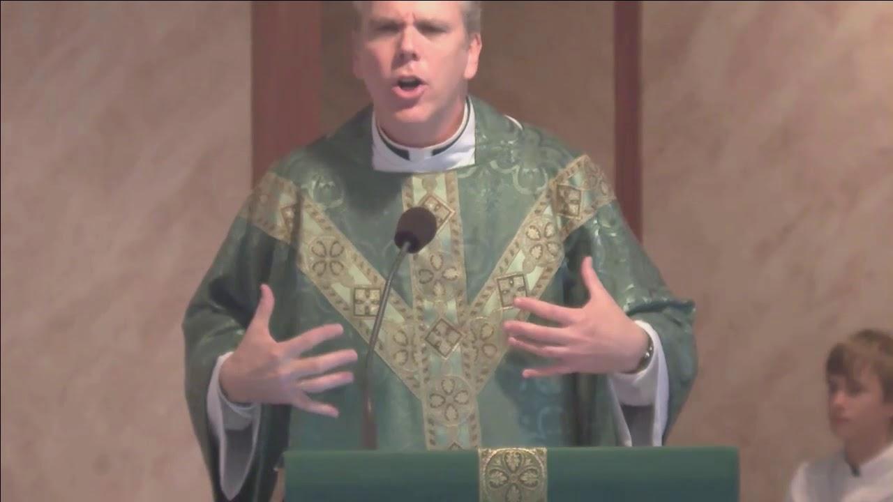 Father Daniel Straughn Homily September 17 2017 Youtube