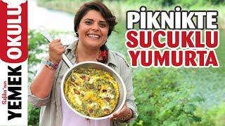Enfes Sucuklu, Otlu, Dil Peynirli Yumurta Tarifi | Ekipçe Belgrad Ormanı'na Pikniğe Gittik