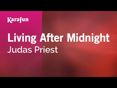 Karaoke Living After Midnight - Judas Priest *