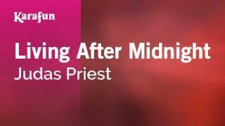 Karaoke Living After Midnight - Judas Priest *