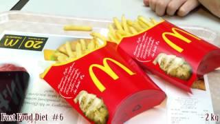 Dieta - Fast Food Diet #6 - Tesco: Sałatka / Mcdonald'S: Frytki - Vlog