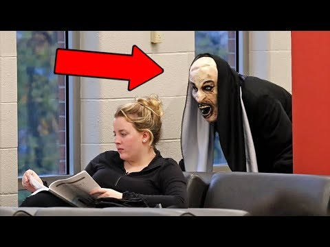 'THE NUN' Scare Prank at School!