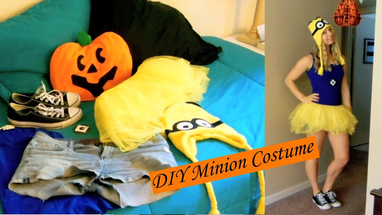 sc 1 st  YouTube & DIY Minion costume - YouTube