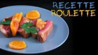 Recette : Rôti de magret de canard aux abricots secs !