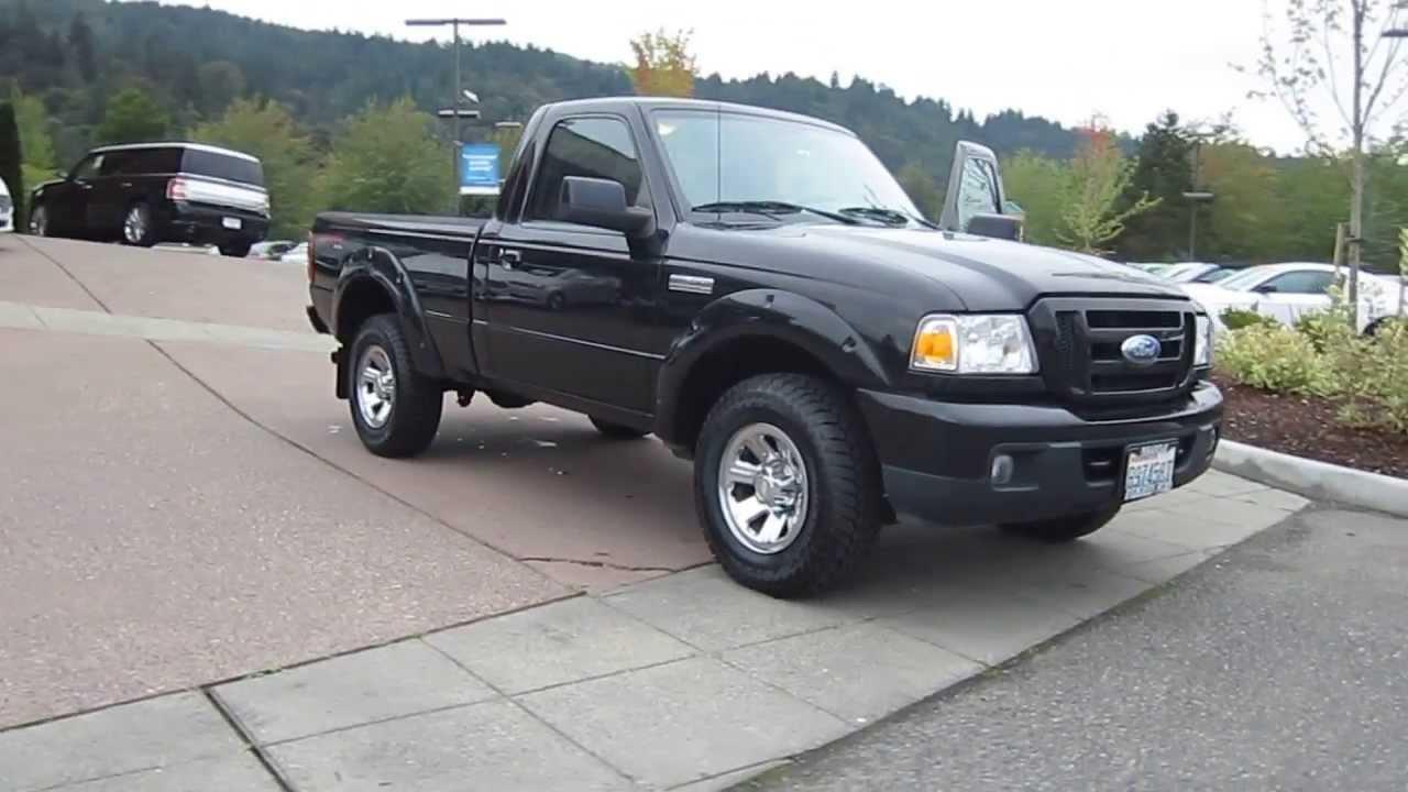 2006 ford ranger black stock 13 3263a