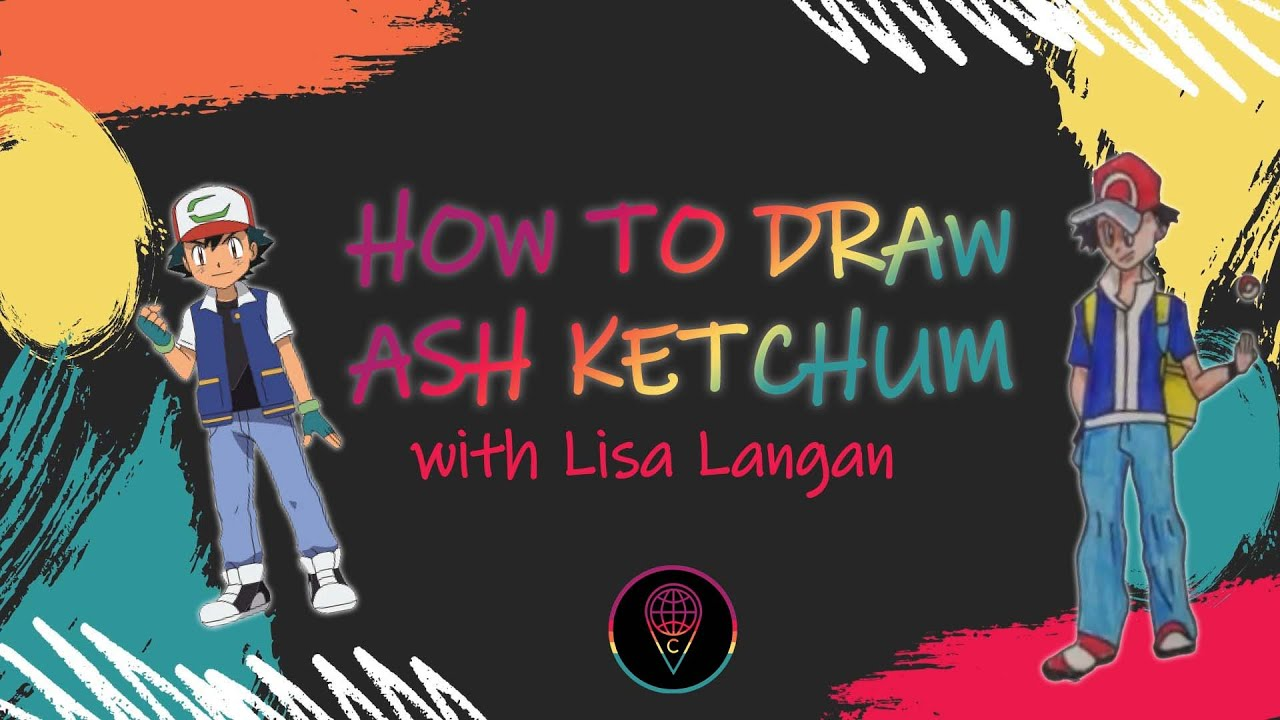 Lisa's Guided Drawings: How to Draw Ash Ketchum