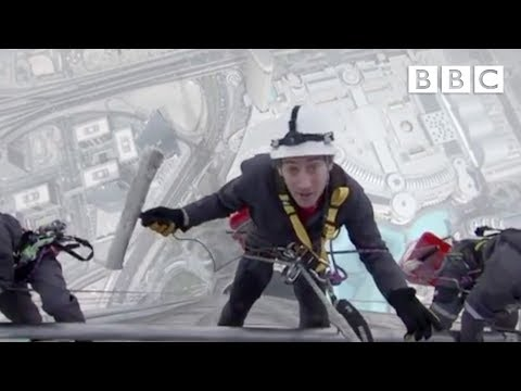 Window cleaning the world's tallest building - Supersized Earth - Episode 1 - BBC One