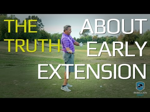 The Truth About Early Extension in the Golf Swing