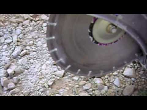 The Physics Of Cutting Concrete