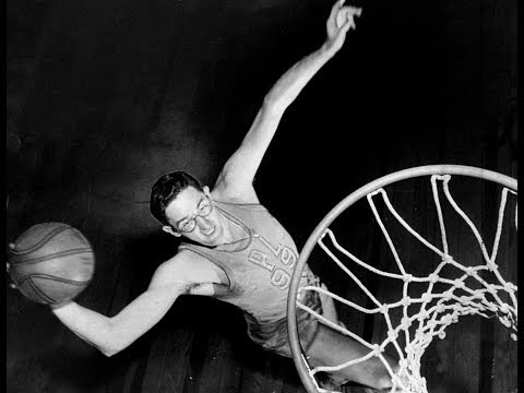 George Mikan (AMAZING BASKETBALL NBA DOCUMENTARY) [HD]