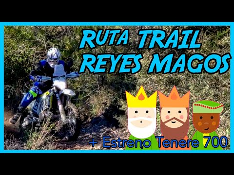 Ruta Moto Trail - Reyes Magos + Estreno Tenere 700