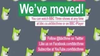 BBC Three final day of broadcast - 15th Feb 2016