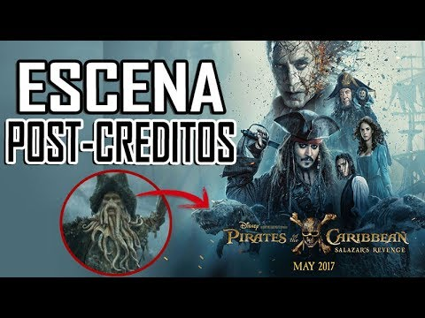 ESCENA POST-CRÉDITOS PIRATAS DEL CARIBE 5 LA VENGANZA DE SALAZAR [Davy Jones ha regresado]