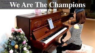 Queen - We Are The Champions 위아더챔피언 악보 피아노 커버 FIFA 월드컵주제곡 웅장한 인싸노래 (KERI Piano 케리피아노)