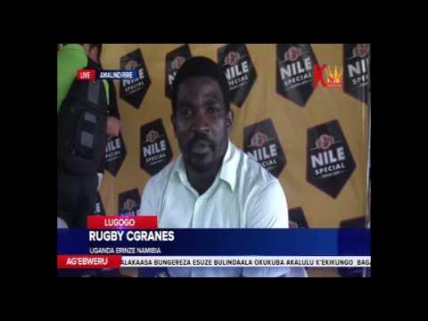 RUGBY CRANES  Uganda erinze Namibia