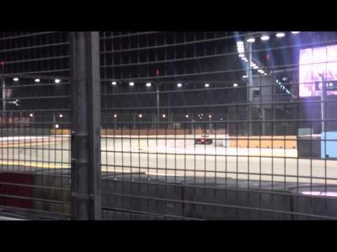 2012 Formula 1 Singapore Grand Prix 1/3 - (21st Sep - Practice Session)