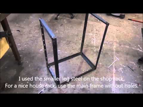 A Simple, Quick, Free, Wood Rack